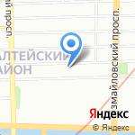 StereoBus на карте Санкт-Петербурга