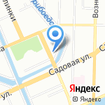 Матисс Клуб на карте Санкт-Петербурга