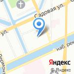 Отдел вневедомственной охраны Управления МВД РФ по Адмиралтейскому району на карте Санкт-Петербурга