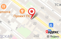 Схема проезда до компании ЦЗИ Гриф в Ярославле