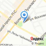 Часовня иконы Божией Матери Всех скорбящих на карте Санкт-Петербурга