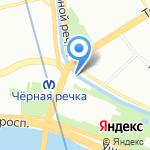 ТелСервис на карте Санкт-Петербурга