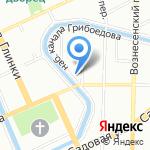 Love-Piano на карте Санкт-Петербурга