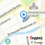 Бридж Таун на карте Санкт-Петербурга