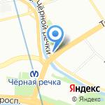 Зерна на карте Санкт-Петербурга