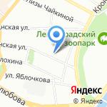 Институт биосенсорной психологии на карте Санкт-Петербурга
