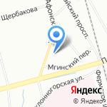 Fsf на карте Санкт-Петербурга
