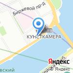 Санкт-Петербургский научный центр РАН на карте Санкт-Петербурга