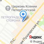 Чистая жизнь на карте Санкт-Петербурга