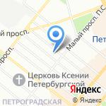 Адвокат Роголев К.А. на карте Санкт-Петербурга