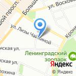 ЭТЛАС на карте Санкт-Петербурга