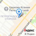 Tony Valdy на карте Санкт-Петербурга