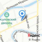 Вита Принт на карте Санкт-Петербурга