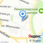 Skypoint на карте Санкт-Петербурга