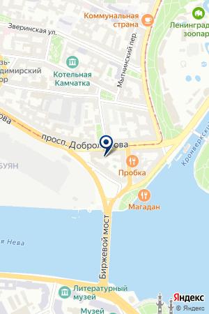 ФАРМАЦЕВТИЧЕСКАЯ ФИРМА ОКТОПУС-СПБ на карте Санкт-Петербурга