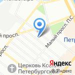 Берега на карте Санкт-Петербурга