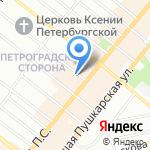 Азбука вкуса на карте Санкт-Петербурга