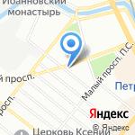 Сейфы.ру на карте Санкт-Петербурга