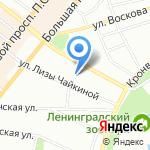 Общеобразовательная школа №3 на карте Санкт-Петербурга