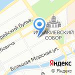 Quattro Corti на карте Санкт-Петербурга