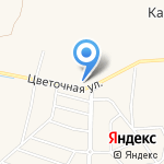 Цветы на карте Санкт-Петербурга