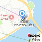Реплика на карте Санкт-Петербурга