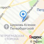 МастерМаркет на карте Санкт-Петербурга