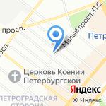 B & W music на карте Санкт-Петербурга