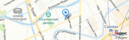 SKT на карте Санкт-Петербурга