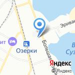 Зодчий на карте Санкт-Петербурга