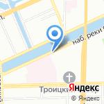 Питер СБТ на карте Санкт-Петербурга