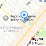 Very на карте Санкт-Петербурга