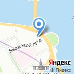 Институт высокомолекулярных соединений РАН на карте Санкт-Петербурга