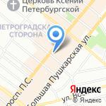 Эфирный Мир на карте Санкт-Петербурга