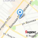 Эскулап на карте Санкт-Петербурга