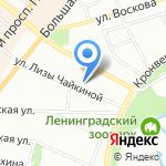Кварели на карте Санкт-Петербурга