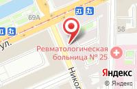 Схема проезда до компании Риа Эсквайр в Санкт-Петербурге