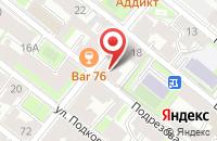 Схема проезда до компании Студия Дизайна «Сила Мысли» в Санкт-Петербурге