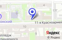 Схема проезда до компании ПТФ СЕВЕРСВЕТ в Санкт-Петербурге