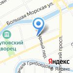 Атон на карте Санкт-Петербурга