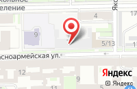 Схема проезда до компании Лакрон в Санкт-Петербурге