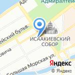 Солнечный город на карте Санкт-Петербурга