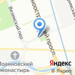 Дом Гарсиа на карте Санкт-Петербурга