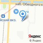 РосКран на карте Санкт-Петербурга