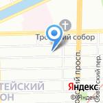 Триумф на карте Санкт-Петербурга