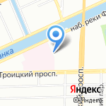 МарЛи на карте Санкт-Петербурга