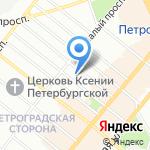 Интерьерный Салон на карте Санкт-Петербурга