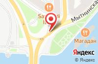 Схема проезда до компании Артэреа в Санкт-Петербурге