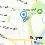 Санкт-Петербургская классическая гимназия №610 на карте Санкт-Петербурга