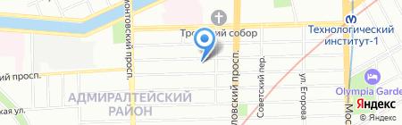Актив-Недвижимость на карте Санкт-Петербурга
